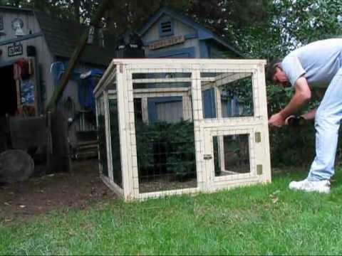 DIY 112 - Temporary Animal Cage - Storeable