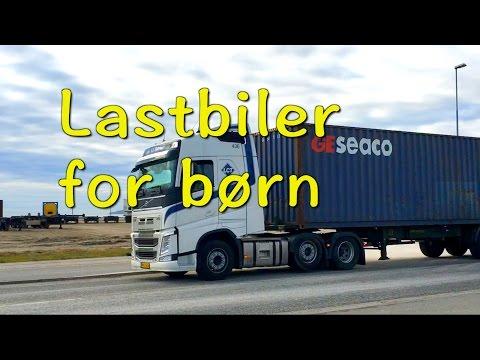 Lastbiler for børn