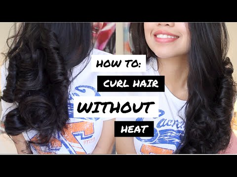 How To Curl Hair WITHOUT Heat!  |  Overnight Heatless Curls