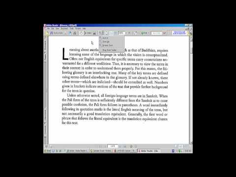 Making text size bigger in a  PDF for viewing