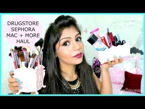 Huge Drugstore Makeup Haul, Sephora MAC KIYO NYX Daiso Japan Singapore Beauty Haul | SuperPrincessjo