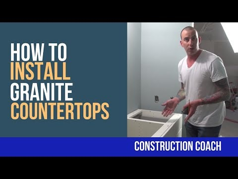 How to Install Granite Countertops - DIY