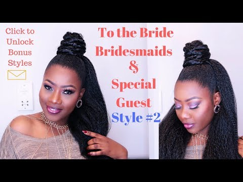 The Best Bridal Hair Inspiration: Style #2