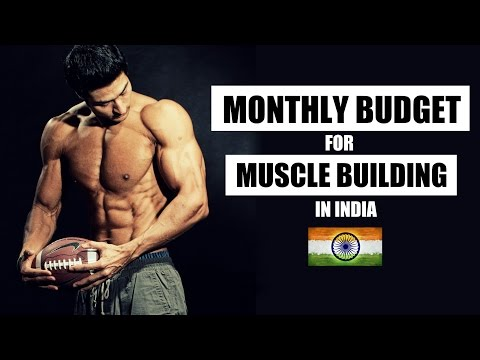 Monthly BUDGET for Muscle Building in INDIA | Cheap or Expensive | Full Info with PDF by Guru Mann