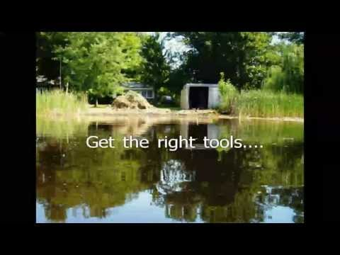 How to Remove Cattails, Lily Pads, Lake Weeds