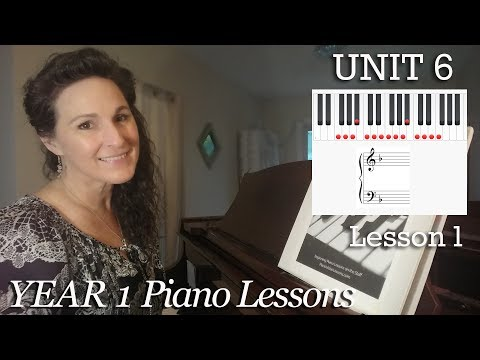 6-1 Key Signatures [Year 1 #81] Easy Classical Piano PianoVideoLessons |Online Adult Piano Lessons1