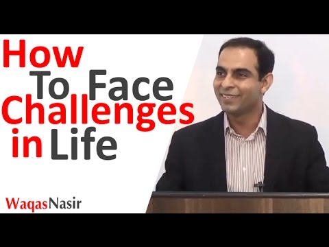 How to Face Challenges in Life -By Qasim Ali Shah | In Urdu