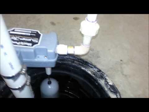 Say No To Battery Sump Pump DIY Install Water Powered SJ10 Liberty.