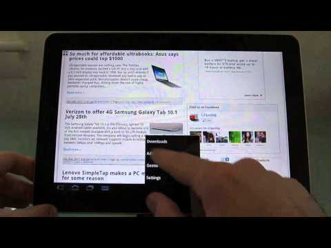 Dolphin Browser for Android tablets