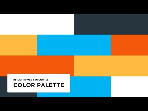 Choosing a color - UI design tutorial
