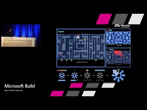 How Microsoft AI defeated Ms Pacman : Build 2018