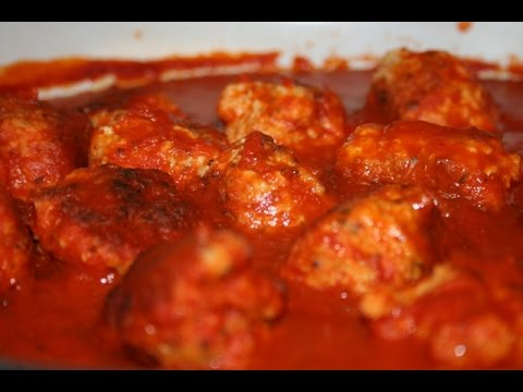 Homemade Chicken Meatballs (And Meatball Marinara)