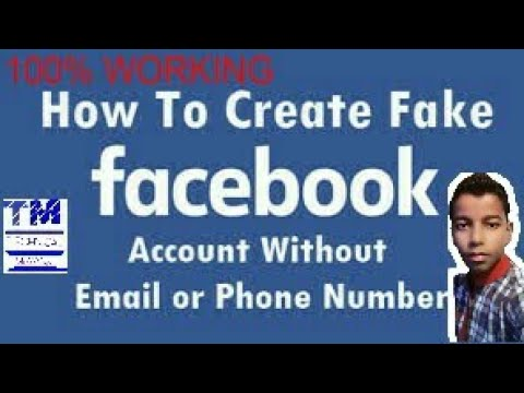 HOW TO CREATE A FACEBOOK ACCOUNT WITHOUT A PHONE NUMBER OR EMAIL ADDRESS.    Part =2