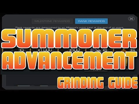 Summoner Advancement - Get Lots of Points Each Week [Marvel Contest of Champions]