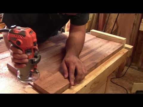 Mesquite cutting board