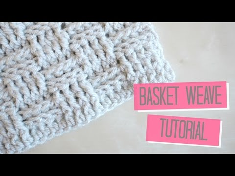 CROCHET: Basket weave tutorial | Bella Coco