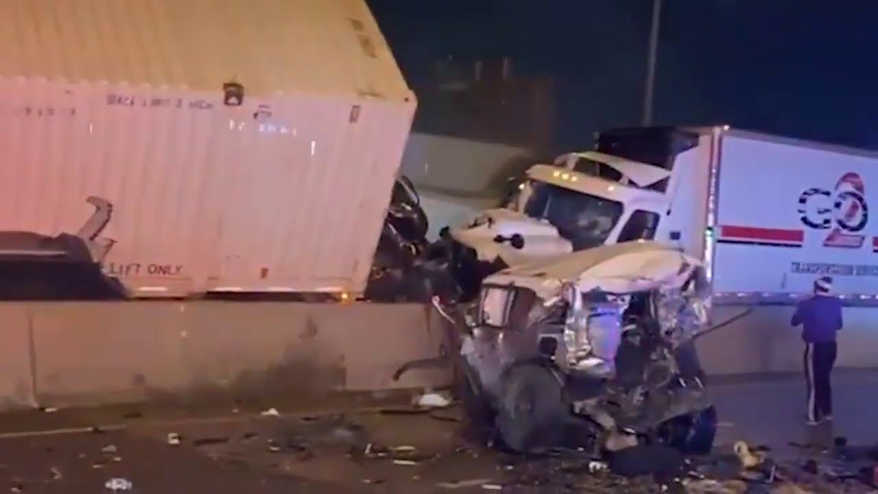 Caught on Tape: New Footage Shows Multiple Angles of Horrific Fort Worth Pileup Crash