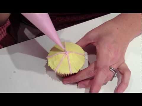 Xanth Milton Teaches Rose Topped Tent Cupcakes