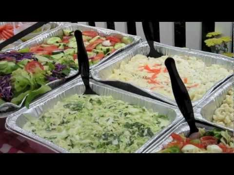 Summer Cookout Buffet for your next party! Choose Tulip Caterers
