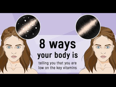 Top 8 Ways Your Body Is Telling That It Is Low On Essential Vitamins