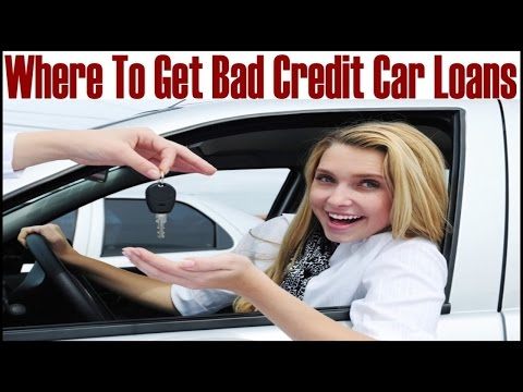 Where To Get Bad Credit  Car Loans