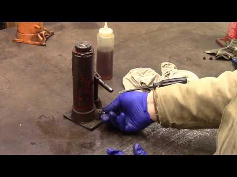Repair of Black Hawk Bottle Jack