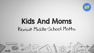 ScoopWhoop: Kids And Moms Solve Middle School Maths