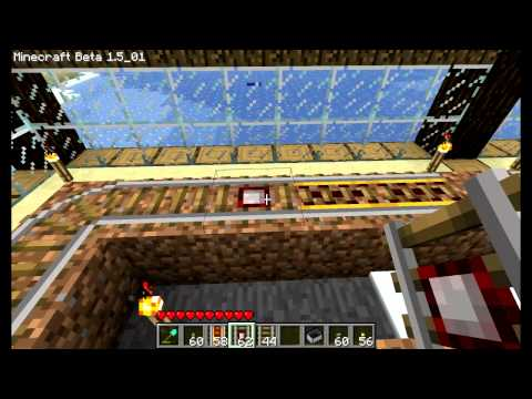 Minecraft - Powered Rails & Detector Rails