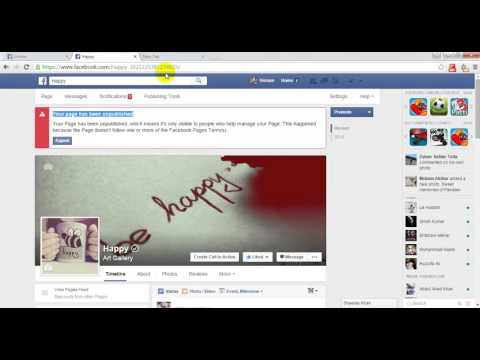 How to Appeal an unpublished to publish  Facebook Page