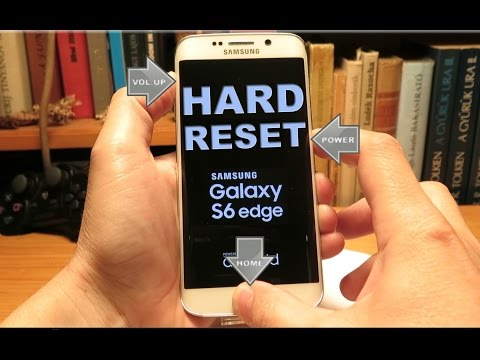 Samsung Galaxy S6 Reset Button Uses When Unresponsive
