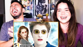 TWILIGHT PITCH MEETING | Screen Rant | Ryan George | Reaction | Jaby Koay