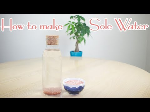 Relieve Acne and Stress with Pink Himalayan Salt Water