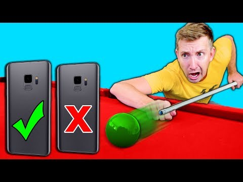 DO NOT Try Phone TRICK SHOTS in REAL LIFE Challenge!