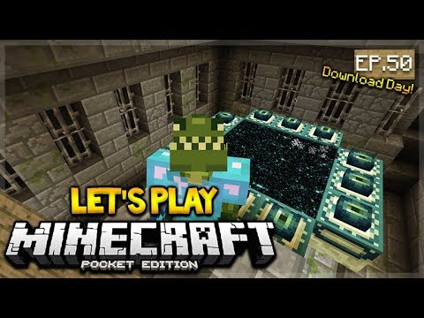 🔴 LIVE NOW MCPE 1.2 Let's Play Minecraft Pocket Edition: Ender-Dragon Fight Prep 50