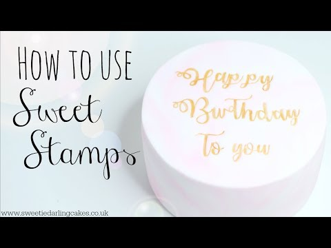 How to use Sweet Stamps