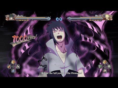 Sasuke True Rinnegan Potential Unlocked - Naruto Shippuden Ultimate Ninja Storm 4 Road to Boruto