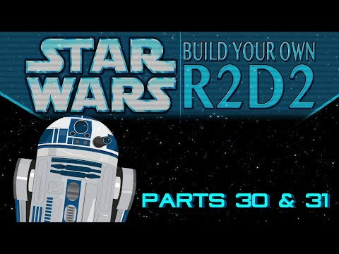 DeAgostini Build Your Own R2D2 Parts 30 & 31: Threading fiddily wires!
