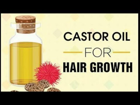 Castor oil for hair growth | mixing castor oil for faster growing hair