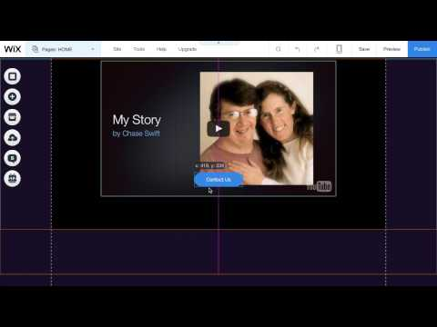 Part 1: Creating a Free Wix Video Web Page (Landing Page)