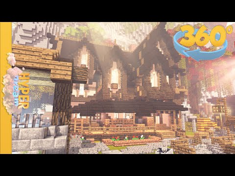 Minecraft Animation 360° Degree View [New YouTube Feature] - 4k HD