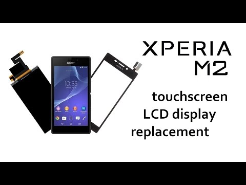 Sony Xperia M2 / M2 Aqua - Touchscreen / Glass / Digitizer, LCD Display replace, repair