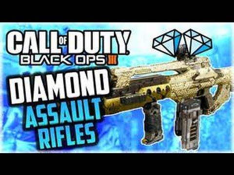 DIAMOND ASSAULT RIFLE BO3 LIVE REACTION!!