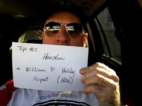 Uber and Lyft Tip #2 Houston is William P. Hobby Airport. Share your feedback.