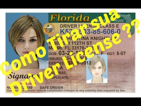 Como tirar carteira de motorista na Florida - EUA - Driver License