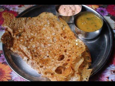 Crispy Wheat Dosa Recipe - Godhumai Dosa