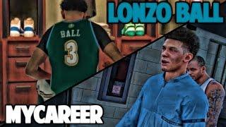 LONZO BALL NBA DEBUT - NBA 2K17 LONZO BALL MyCareer