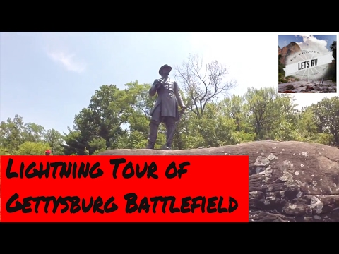 Gettysburg Battlefield Lightning Tour