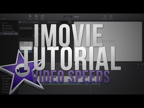 NEW iMovie 2013: Speed Up or Slow Down Videos! (Tutorial)