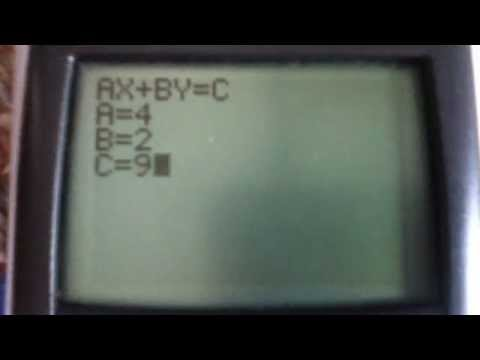 My program that changes a linear equation from standard form to y=mx+b