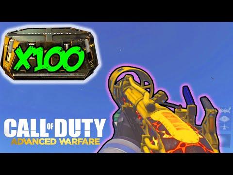 x100 STG44 / BLUNDERBUS / SVO SUPPLY DROP OPENING! Call of Duty Advanced Warfare Multiplayer DLC!